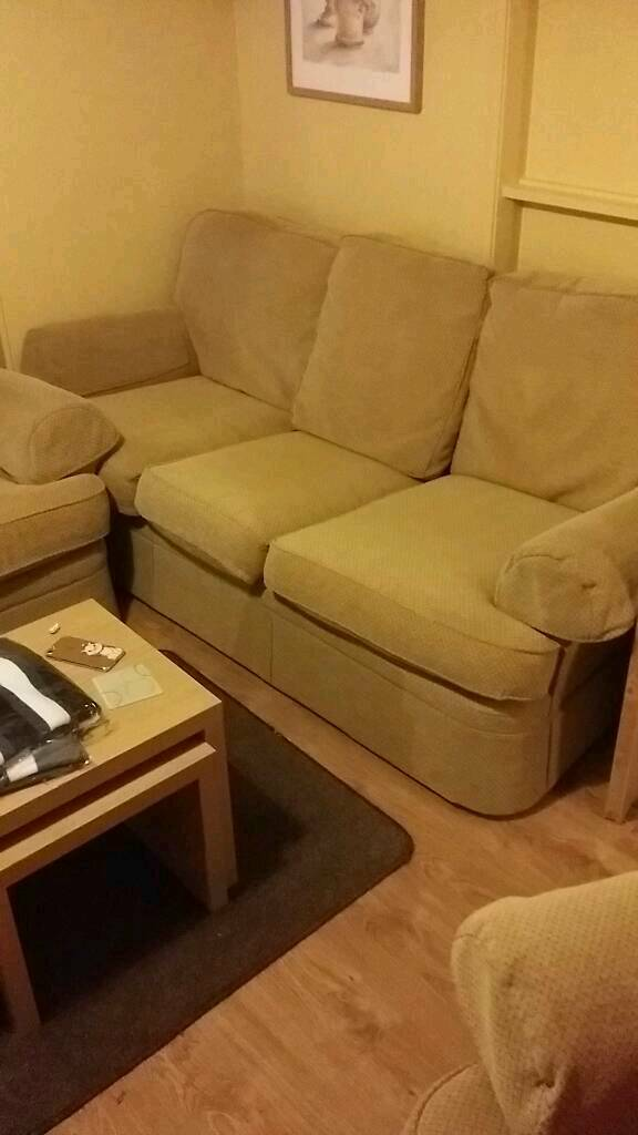 Marks & Spencer 3 piece suite sofa