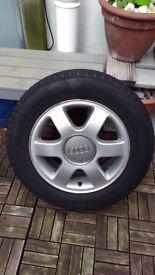 Audi A3 alloy wheel