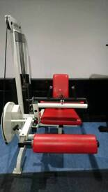 Life Fitness Gym Leg Extension Machine