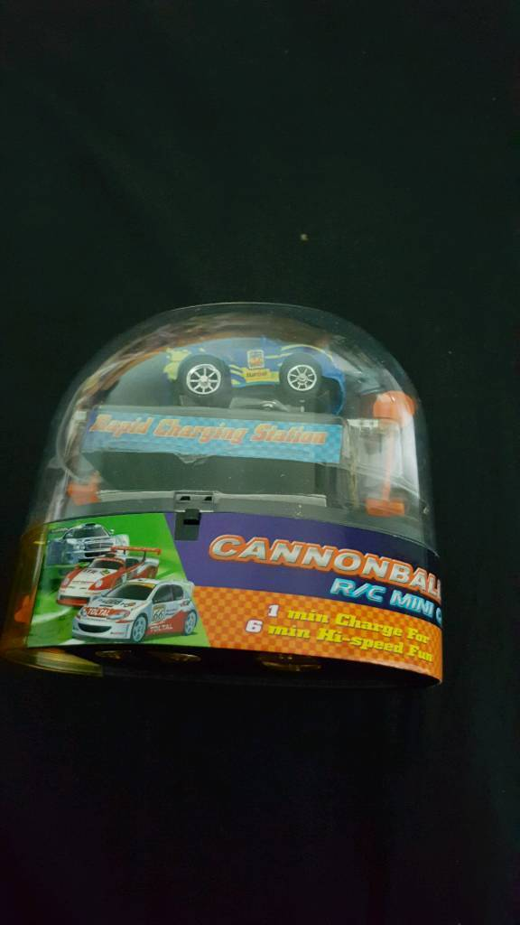 Cannonball rc mini car