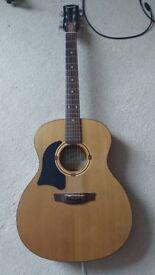Left Handed Garrison Acoustic Guitar