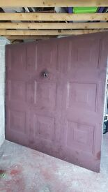 UP & OVER GARAGE DOOR TO SUIT 7FT X 7FT OPENING £50 ONO