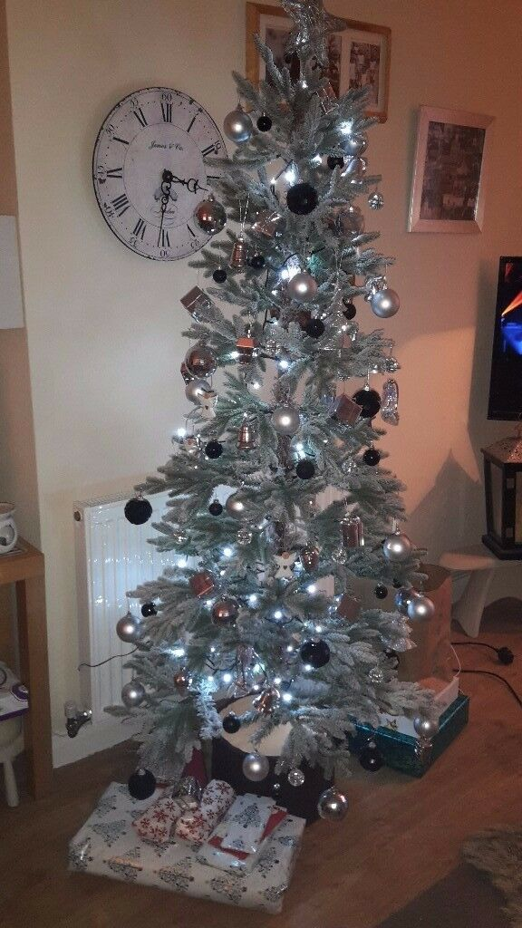 Tesco 6ft Spruce Christmas Tree - Used once - From no ...