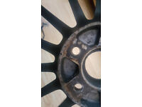 Ray wheels for sale 17 x 7j 43 offset with DZ03g tyres