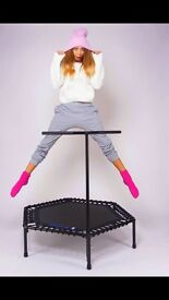 Professional fitness trampolines