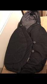 Maxi cosi car seat Pebble Plus/Pebble Footmuff