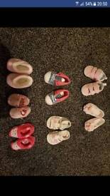 Baby girls shoes and slippers
