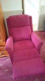 Disability electric armchair