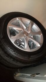 "Peugeot 208 4 ""15 inch"" Alloy Wheels with Brand New Michelin Tyres"