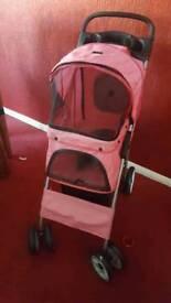 Pet pushchair