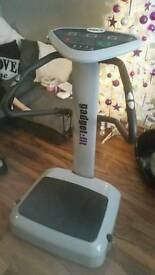 Vibration gym fitness plate