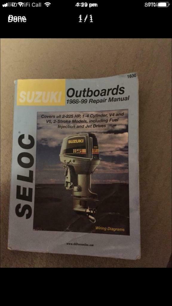suzuki outboard manual selco 1988 onwards | in Oakwood, Derbyshire | Gumtree
