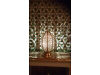 Moroccan side lamp