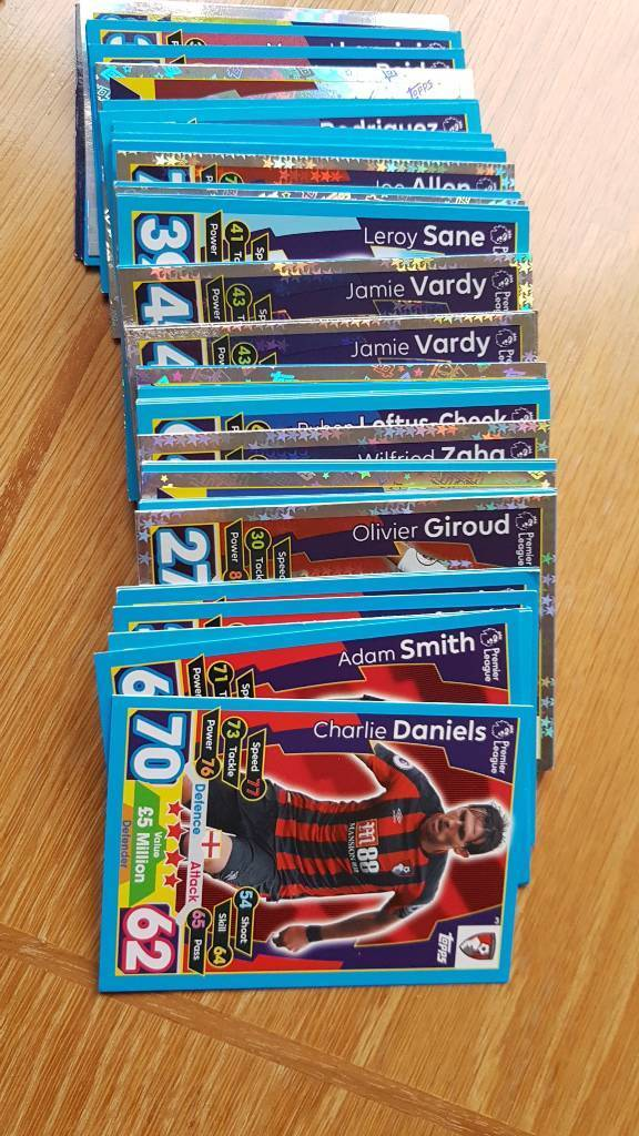 Match attax swaps 2017/18