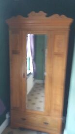 two wardrobes