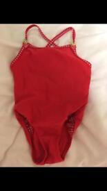 12-18 months red Debenhams swimsuit
