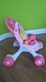 Fisher Price kids toy pyshchair walker