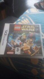 Lego Starwars the Complete Saga Nintendo DS game