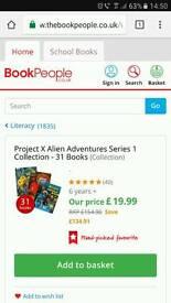 31 Childrens books! Project X alien adventures