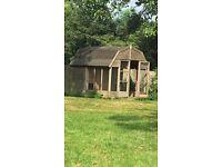 Dutch barn kennel