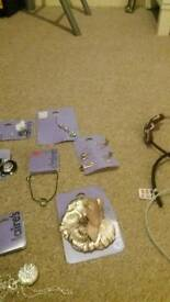 Jewellery from Claire's accessories