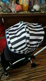Bugaboo bee plus two button fold short strap