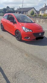 Vauxhall corsa limited edition turbo