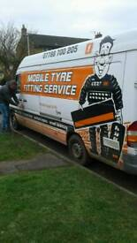 Mobile tyre fitting van, already trading in Hertfordshire