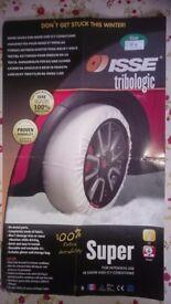 ISSE SUPER tyre snow socks (size 74)