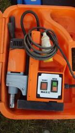 Magnetic drill 110