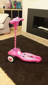 Minnie Mouse 1st scooter