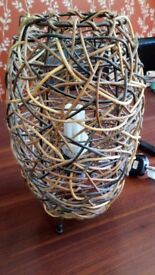 Next rattan lamp.