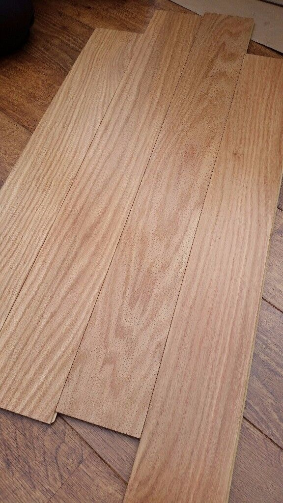 Hartco Armstrong White Oak Laminate Flooring 2pcks Covers 11 M2 In
