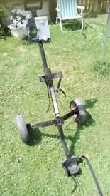 Regal wide trac aluminium golf trolley