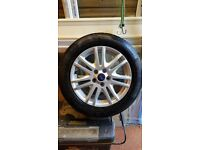 Ford focus titanium alloy wheel