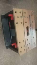 Work mate work box. Black & Decker. Tool box work bench and step
