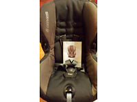Child car seat (Maxi Cosi Priori) (9m-3.5 years; 9-18Kg). Light use. Clean, very good condition. NS.