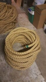 Rope. High quality rope of different lengths - sports / boats / multiple uses