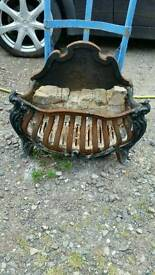 Antique fire basket