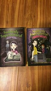 Suddenly Supernatural Books