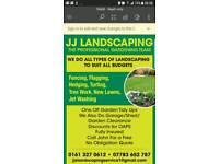 JJ landscaping services