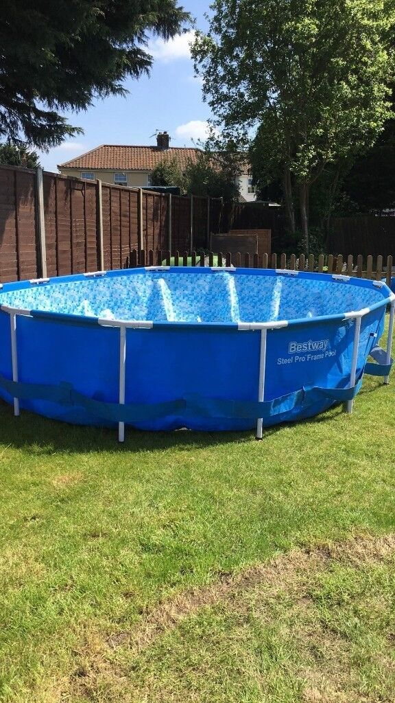 15ft metal framed swimming pool with accessories | in Norwich ...