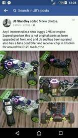Nitro rc buggy hsp 2.95cc 2 Speed