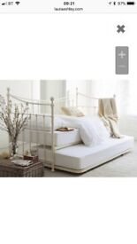 Ivory day bed - single frame