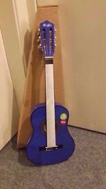 Music Alley Junior Guitar - Brand New / Available in Blue or Pink - Collection Only.
