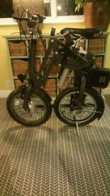 MOBIKY Electric folding bike - made in France - top quality - ideal commuter