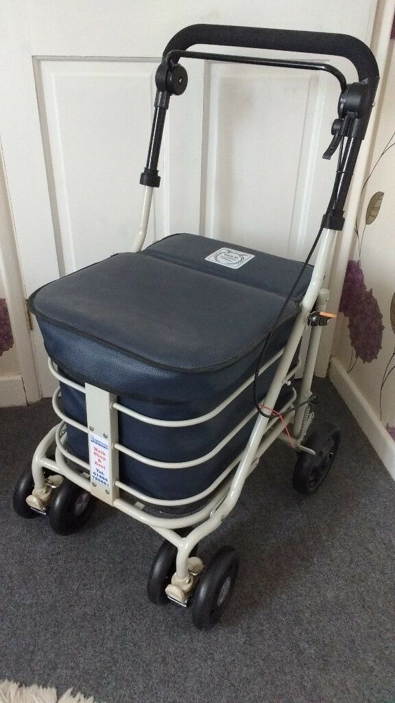 Prestige Ultimate Shopper Walking Aid Shopping Trolley