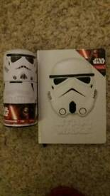 Star Wars A5 3D Notebook (new) & tin