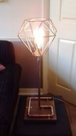 Unique Copper Pipe Lamps