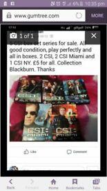 CSI dvds for sale
